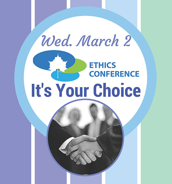 2016 Ethics Conference Flyer