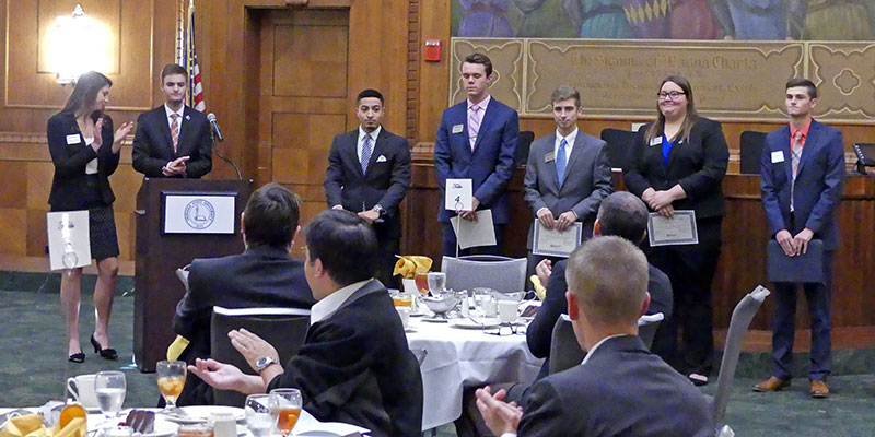 2016 IRM Honors Corps Luncheon