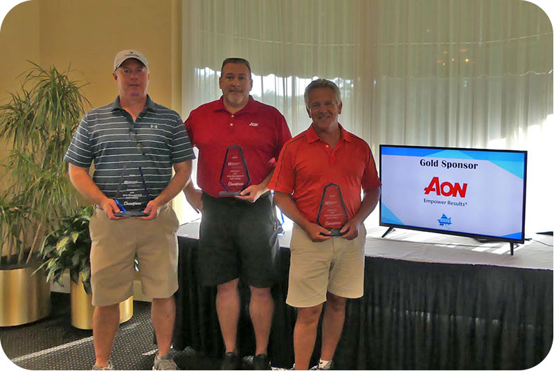 2018 Golf Winners - Aon