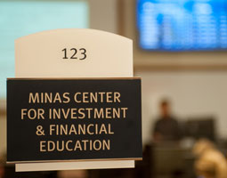 Minas Center Sign