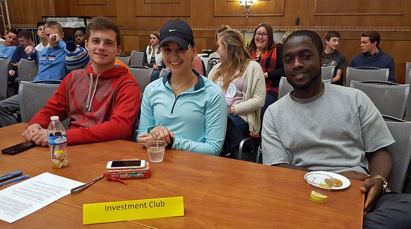 Ethics Bowl 2016 - Investment Club team