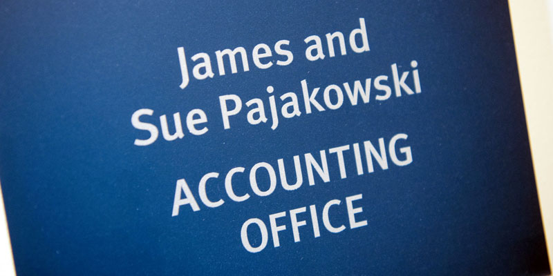 FD333 - James and Sue Pajakowski Accounting Office