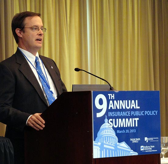 Brien Smith at 2013 9th Annual NFI Insurance Summit