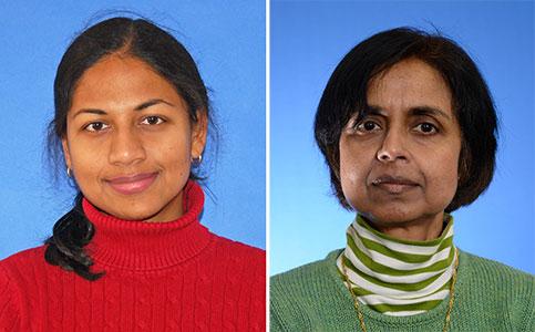 Lakshmi Balasubramanyan and Aruna Chandra
