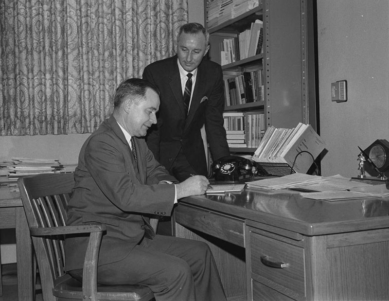 Ralph Mason and Robert Steinbaugh in 1966