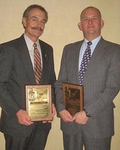 Bill Wilhelm and Al Czyzewski