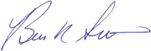 Brien Smith signature