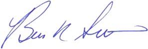 Brien Smith signature