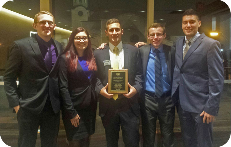 Alpha Epsilon Recognized by Gamma Iota Sigma