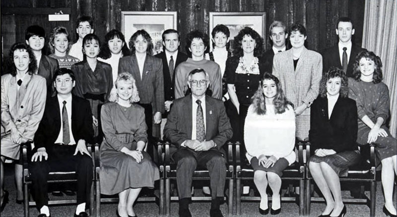 Beta Gamma Sigma 1990