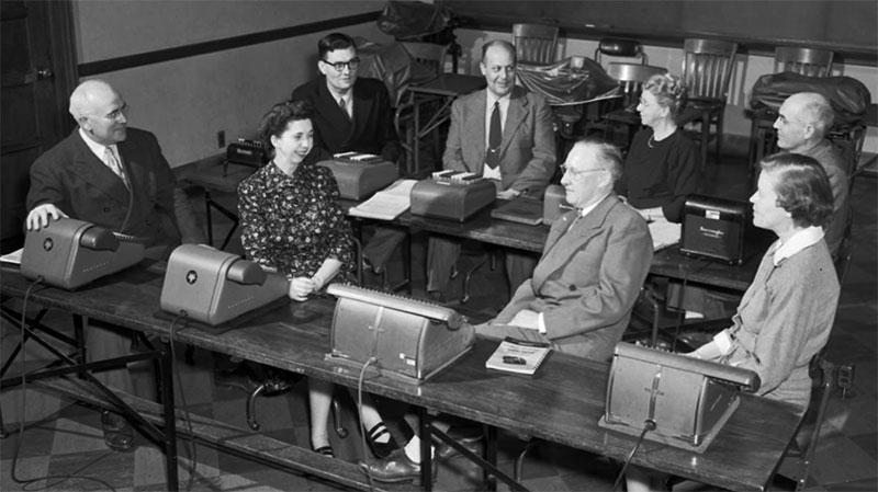 Commerce Faculty, November 3, 1953
