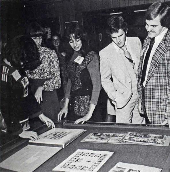 Delta Sigma Pi - Delta Tau Chapter, scrapbooks, 1979