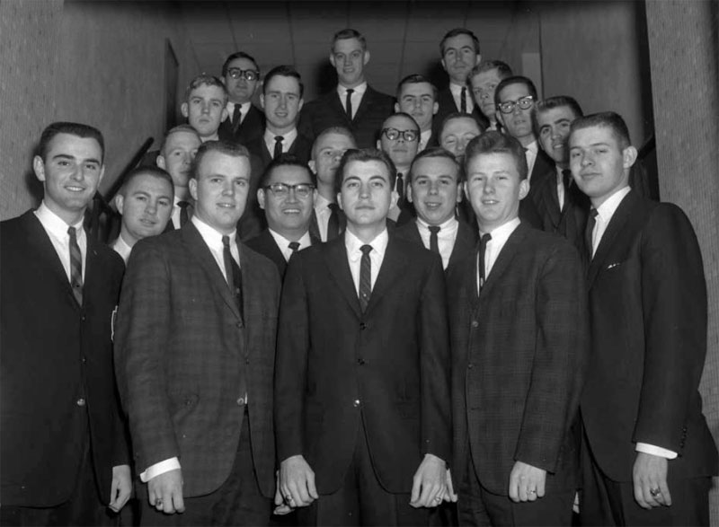 Delta Sigma Pi, Delta Tau chapter, January 17, 1963
