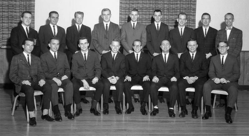 Delta Sigma Pi, Delta Tau chapter, October 22, 1963