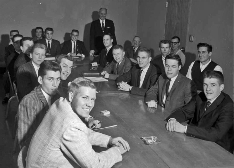 Delta Sigma Pi, Delta Tau chapter, December 3, 1959