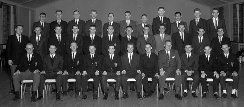 Delta Sigma Pi, Delta Tau chapter, 1962
