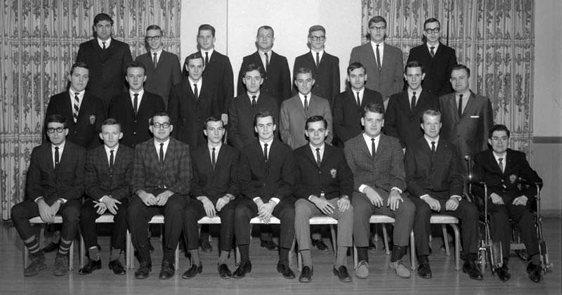 Delta Sigma Pi, Delta Tau chapter, 1964