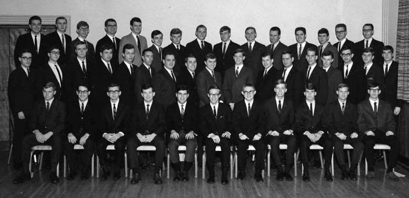 Delta Sigma Pi, Delta Tau chapter, 1967