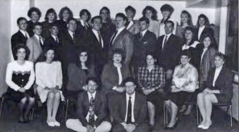 Delta Sigma Pi, Delta Tau chapter, 1993