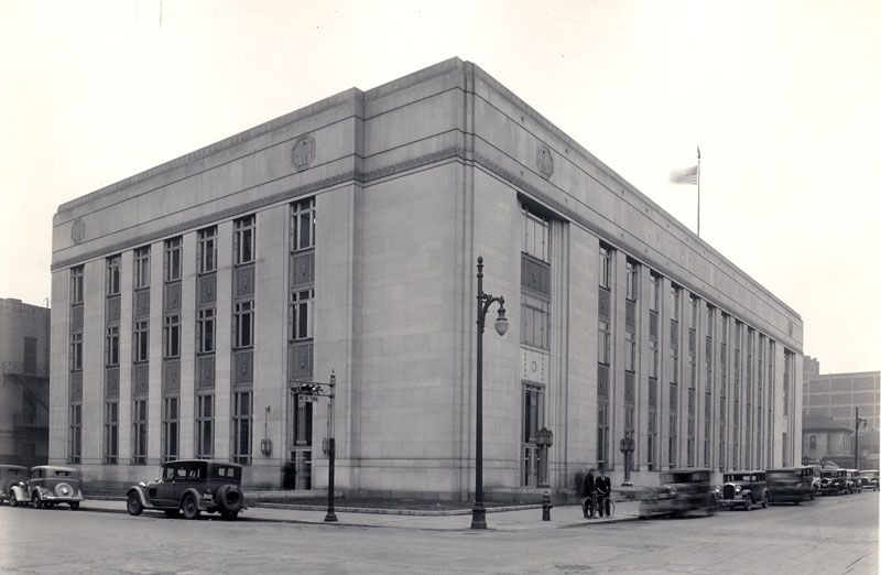 Federal Hall in 1935. Photo from the National Archives
