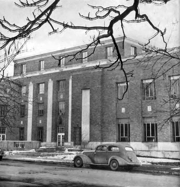 Fine Arts and Commerce Building, 1941