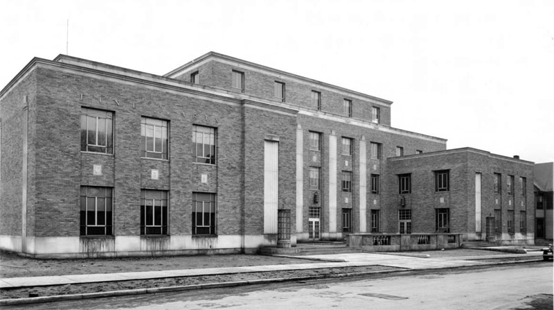 Fine Arts and Commerce Building, February 1940