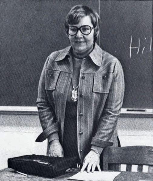 Dr. Leona Gallion, 1977