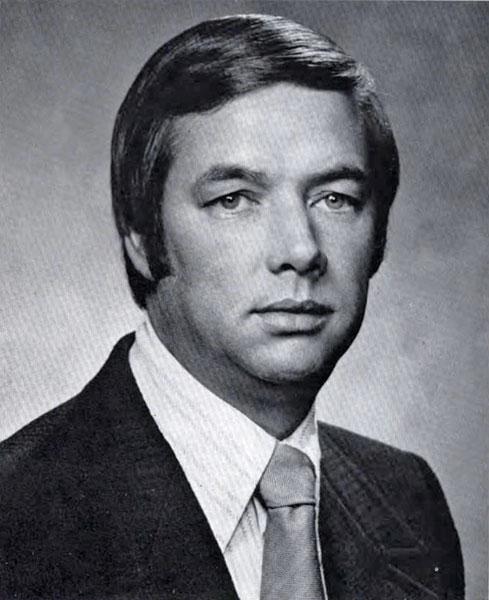 Edward Goebel, dean 1974 - 1989
