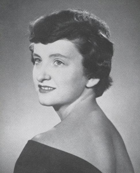 Marlene Newton, 1956
