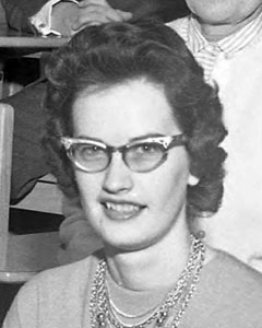 Barbara Minnick, November 21, 1963
