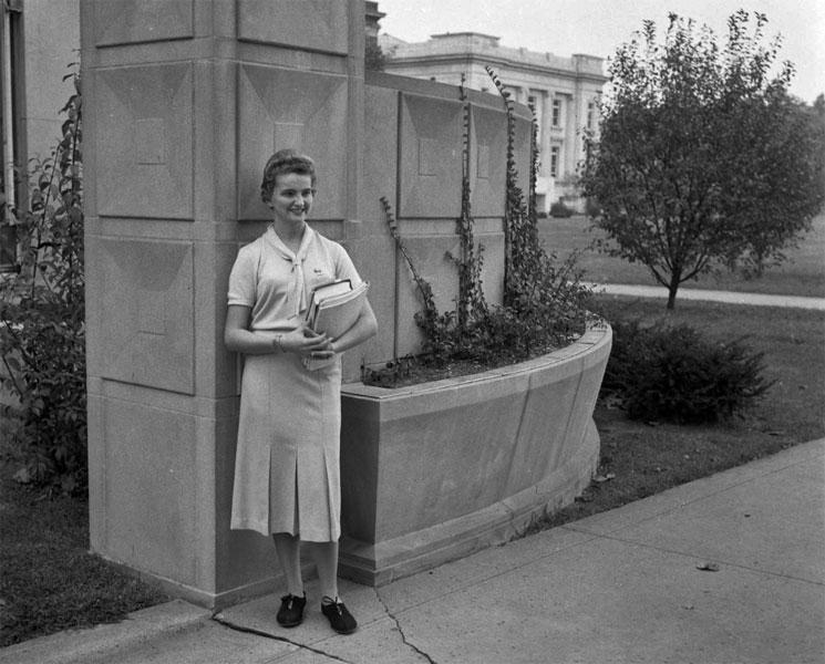 Marlene Newton, October 20, 1958