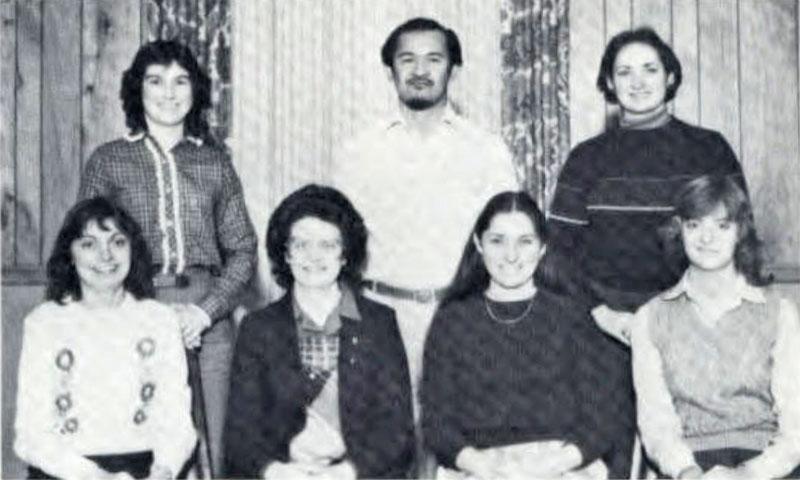 Pi Omega Pi, Chi Chapter, 1982