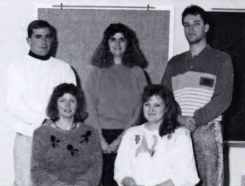 Pi Omega Pi, Chi Chapter, 1993