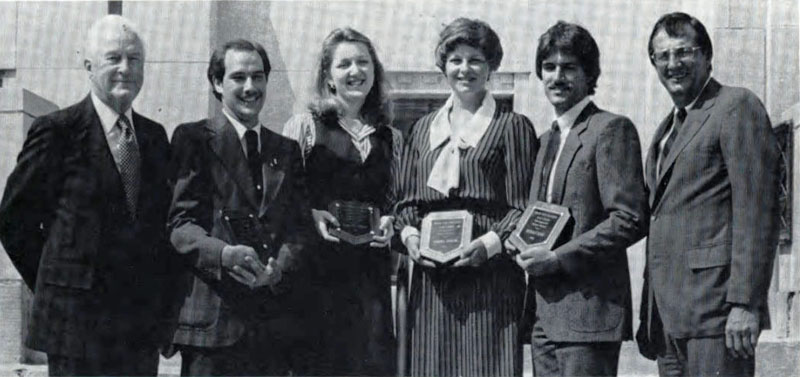 Alan C. Rankin Outstanding Seniors, 1982