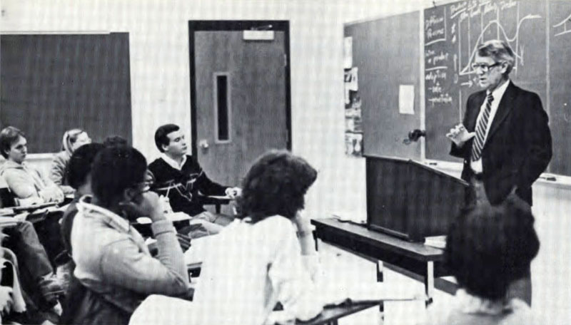 Herbert Ross, Marketing class, 1982