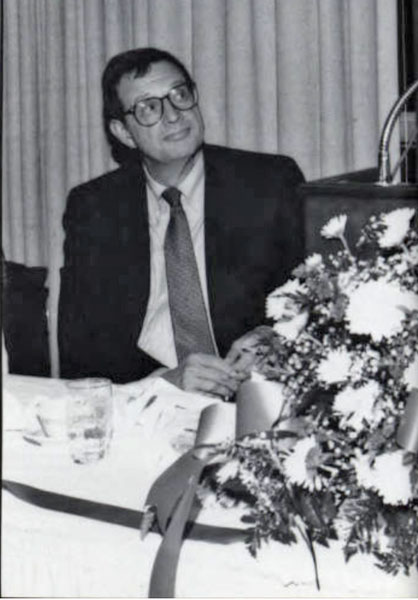 Herbert Ross, Interim Dean, 1990