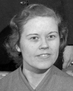 Ruth Temple, November 1940