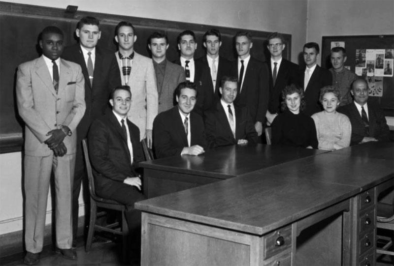 Accounting Club, December 9, 1958