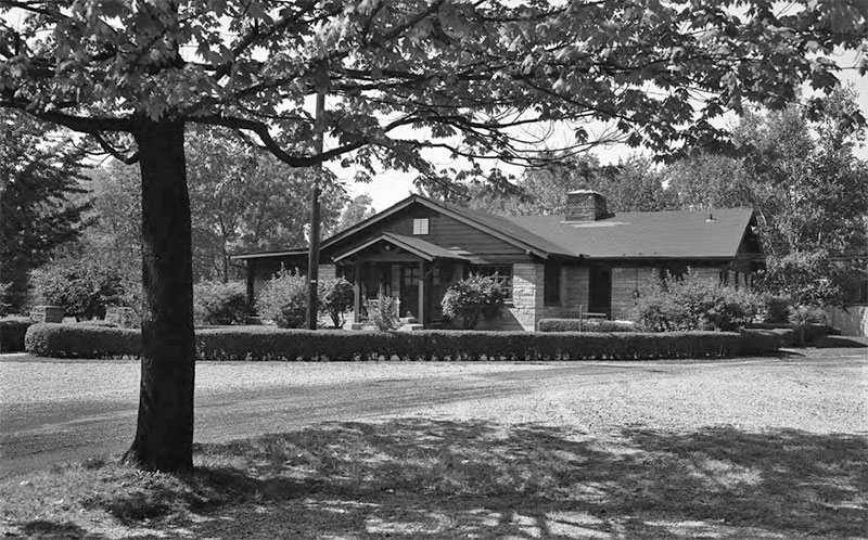 Allendale Lodge in 1964