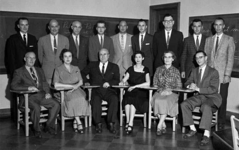 Business Faculty, October 8, 1958