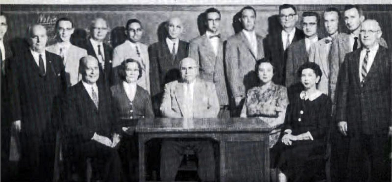 Business Faculty 1958