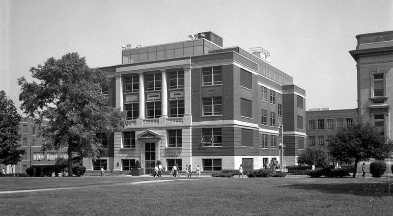 The School of Business in 1970