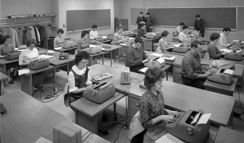 Typewriting Class 1963