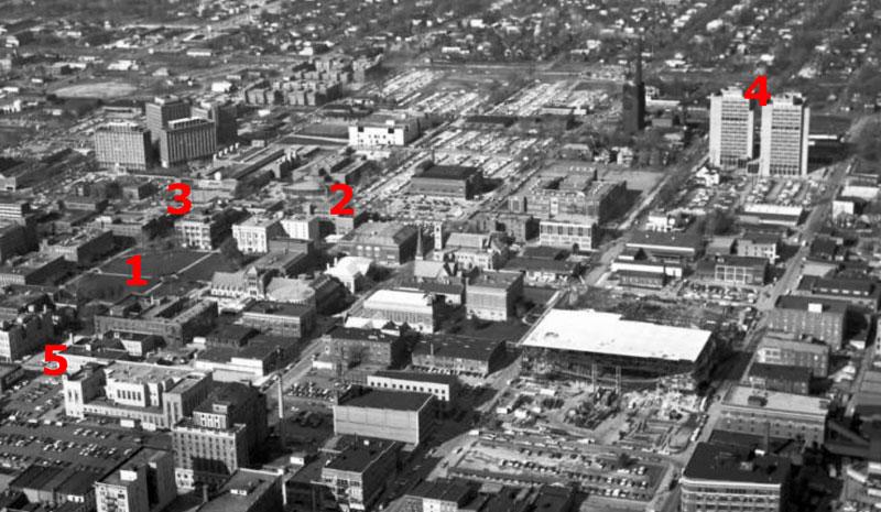 Indiana State University Campus, November 15, 1972