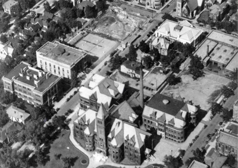 Indiana State Normal School campus, 1920