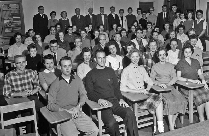 Commerce Club, November 13, 1958