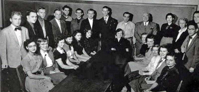 Commerce Club 1952