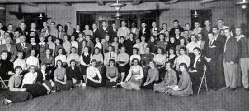 Commerce Club 1956