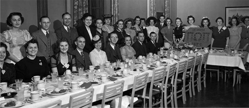 Commerce Club Banquet, April 1941