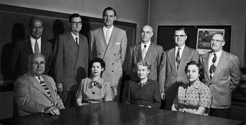 Commerce Faculty, November 11, 1955